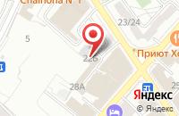 Схема проезда до компании Сеть ателье в Ильинском