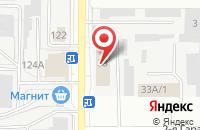 Схема проезда до компании Торгтехника в Казани