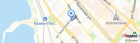 Эдем на карте Казани