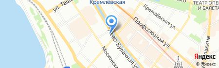 Пластупак на карте Казани