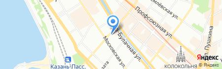 ЕвроДом на карте Казани