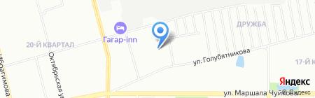 Детский сад №302 на карте Казани