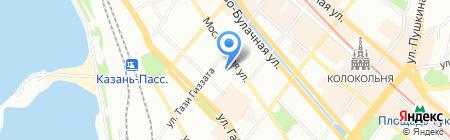 Апельсин на карте Казани