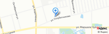 Магазин печатной продукции на ул. Голубятникова на карте Казани
