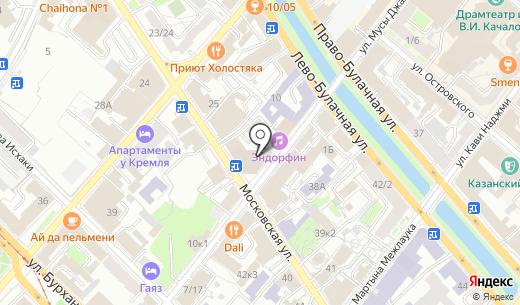 Seiko. Схема проезда в Казани