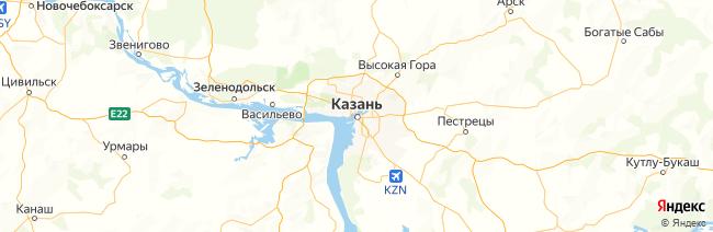 Татарстан на карте