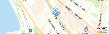 Булак на карте Казани
