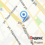 Халяль на карте Казани
