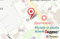 Схема проезда до компании Приоритет-Строй в Казани