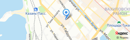 ДОЛИНА на карте Казани