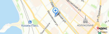Авен-Казань на карте Казани