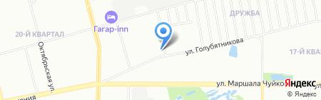 Отделение по Авиастроительному и Ново-Савиновскому районам лицензионно-разрешительной работы на карте Казани