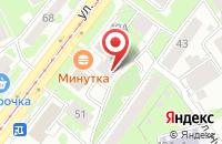 Схема проезда до компании Атлантида в Казани
