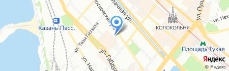 Эталон на карте Казани