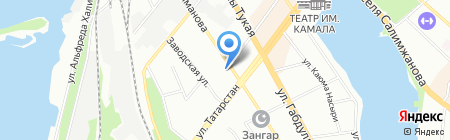 Банкомат ИКБ Совкомбанк на карте Казани