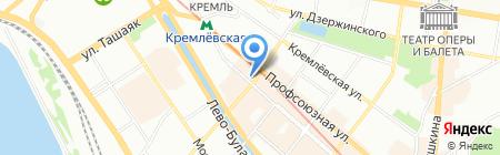 Аурел на карте Казани