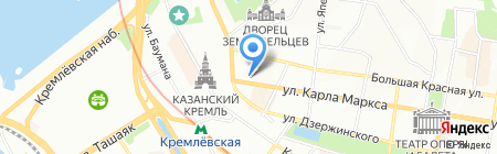 Вилон на карте Казани
