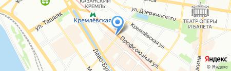 На-радость.ру на карте Казани