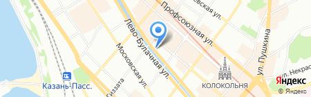 Банкомат Финансовая корпорация ОТКРЫТИЕ на карте Казани