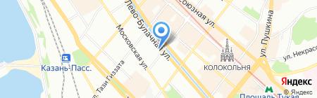 Турамко на карте Казани