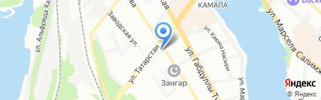 Вавилон на карте Казани