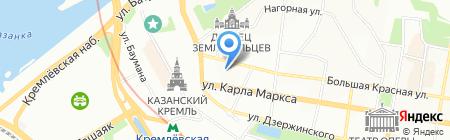 Метрополия на карте Казани