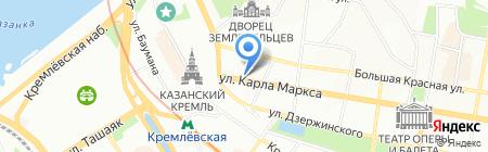 Бронто на карте Казани
