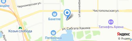 Пальма-Тур на карте Казани