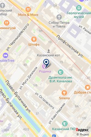 КУКМОРСКИЙ ЦЕНТР ВНЕШКОЛЬНОЙ РАБОТЫ на карте Казани