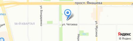 Лагуна на карте Казани