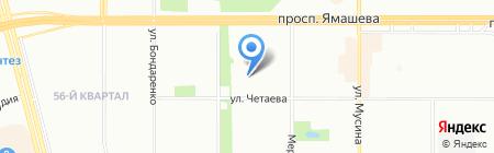 Черная Жемчужина на карте Казани