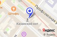 Схема проезда до компании ВОЕННЫЙ КОМИССАРИАТ САРМАНОВСКОГО РАЙОНА в Сарманово