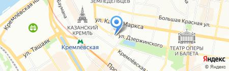 ХОЛМС на карте Казани