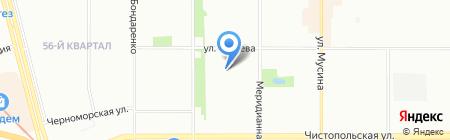 Детский сад №99 на карте Казани