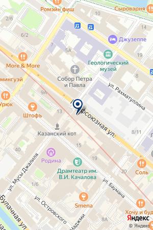 ЛАНДШАФТНОЕ БЮРО ТРАВА У ДОМА на карте Казани
