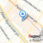 Лазурный берег на карте Казани