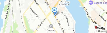Диадема на карте Казани