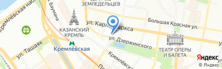 City trend на карте Казани
