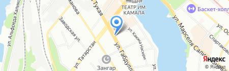 Сам хозяин на карте Казани