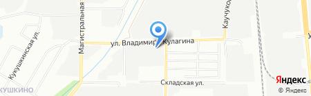 Антей на карте Казани