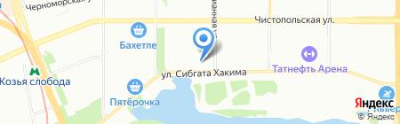 Маяк-Инвест на карте Казани