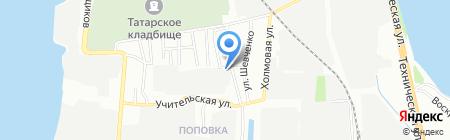 Республиканский автовокзал 07 на карте Казани