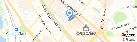 САН СП на карте Казани