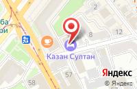 Схема проезда до компании Вектор в Казани
