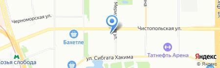 Берег на карте Казани