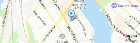Тэк-16 на карте Казани