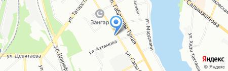 Магазин алкогольной продукции на карте Казани