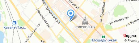 Фиеста и К на карте Казани