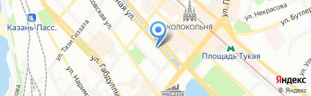 КД на карте Казани