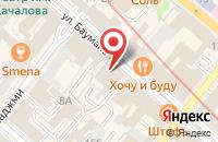 Схема проезда до компании Синема Центр в Казани